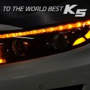 [EXLED] KIA New K5 - 2-Way Eyeline Power LED Upgrade Modules (P-8 COB / Seq.)