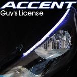 [EXLED] Hyundai New Accent - SMD 5450 2YW 2Way Eyeline LED Module Set