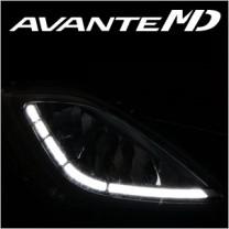 [EXLED] Hyundai Avante MD - Fog Lights 1533L2 Power LED Eye-Flector Modules Set