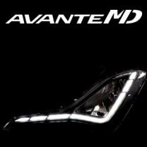 [EXLED] Hyundai The New Avante MD - Fog Lights 1533L2 Power LED Eye-Flector Modules Set