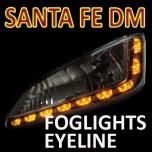 [GOGOCAR] Hyundai Santa Fe DM - LED Foglights D-Block Eyeline DIY Kit