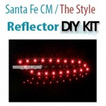 [GOGOCAR] Hyundai Santa Fe CM / The Style - Rear Bumper LED Reflector Modules Set