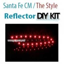 [GOGOCAR] Hyundai Santa Fe CM / The Style - Rear Bumper LED Reflector Modules Set