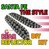 [GOGOCAR] Hyundai Santa Fe CM / The Style - Rear Bumper LED Reflector Modules Set Ver.2