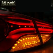 [XLOOK] Hyundai Avante MD - XView System Eclipse Tail Lamp Modules Full Set
