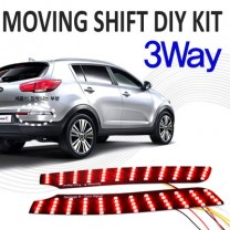 [GOGOCAR] KIA Sportage R -  Moving Shift LED Rear Turn Signal DIY Kit