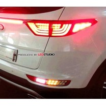 [EXLED] KIA All New Sportage - 1533L2 Power LED Rear Turn-signal+Back-up Light Modules