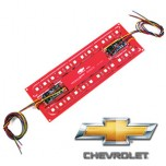 [EXLED] Chevrolet Malibu - Panel Lighting Rear Bumper Reflector 3Way 2Color LED Modules