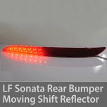 [GOGOCAR] Hyundai LF Sonata -  Moving Shift LED Rear Bumper Reflector DIY Kit