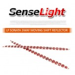 [SENSE LIGHT] Hyundai LF Sonata -  Moving Shift LED 3WAY Rear Bumper Reflector DIY Kit