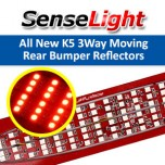 [SENSE LIGHT] KIA All New K5 -  Moving Shift LED 3WAY Rear Bumper Reflector DIY Kit