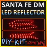 [GOGOCAR] Hyundai Santa Fe DM - Rear Bumper LED Reflector Modules Set
