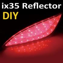 [GOGOCAR] Hyundai Tucson ix - Rear Bumper LED Reflector DIY Kit