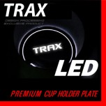 [DXSOAUTO] Chevrolet Trax - LED Cup Holder & Console Plate Set