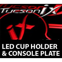 [LEDIST] Hyundai Tucson iX - LED Cup Holder & Console Plate