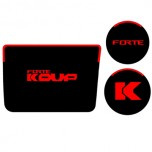 [7X] KIA Forte Koup - LED Cup Holder & Console Interior Luxury Plates Set