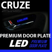 [DXSOAUTO] Chevrolet Cruze - LED Premium Door Plate Set