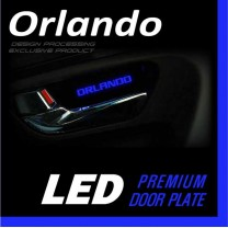 [DXSOAUTO] Chevrolet Orlando - LED Premium Door Plate Set