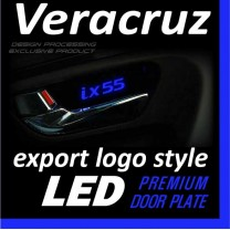 [DXSOAUTO] Hyundai Veracruz - LED Premium Door Plate Set Export