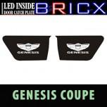 [BRICX] Hyundai Genesis Coupe - LED Inside Door Catch Plates Set