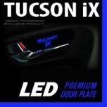 [DXSOAUTO] Hyundai Tucson iX - LED Premium Door Plate Set