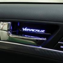 [BRICX] Hyundai Veracruz - LED Inside Door Catch Plates Set