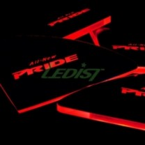 [LEDIST] KIA All New Pride - LED Inside Door Catch Plates Set