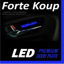 [DXSOAUTO] KIA Forte Koup - LED Premium Door Plate Set