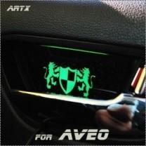 [ARTX] Chevrolet Aveo - Luxury Generation LED Inside Door Catch Plates Set