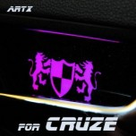 [ARTX] Chevrolet Cruze - Luxury Generation LED Inside Door Catch Plates Set