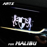 [ARTX] Chevrolet Malibu - Luxury Generation LED Inside Door Catch Plates Set