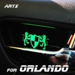 [ARTX] Chevrolet Orlando - Luxury Generation LED Inside Door Catch Plates Set