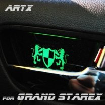 [ARTX] Hyundai Grand Starex - Luxury Generation LED Inside Door Catch Plates Set