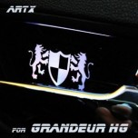 [ARTX] Hyundai Grandeur HG - Luxury Generation LED Inside Door Catch Plates Set