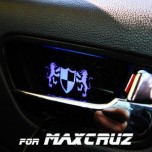 [ARTX] Hyundai MaxCruz - Luxury Generation LED Inside Door Catch Plates Set