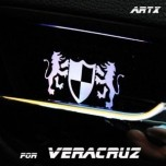 [ARTX] Hyundai Veracruz - Luxury Generation LED Inside Door Catch Plates Set