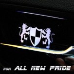 [ARTX] KIA All New Pride - Luxury Generation LED Inside Door Catch Plates Set