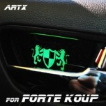 [ARTX] KIA Forte Koup - Luxury Generation LED Inside Door Catch Plates Set