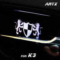 [ARTX] KIA K3 - Luxury Generation LED Inside Door Catch Plates Set