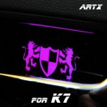 [ARTX] KIA K7 - Luxury Generation LED Inside Door Catch Plates Set