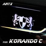[ARTX] SsangYong Korando C - Luxury Generation LED Inside Door Catch Plates Set