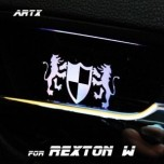 [ARTX] SsangYong Rexton W - Luxury Generation LED Inside Door Catch Plates Set