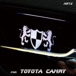[ARTX] Toyota Camry 6G - Luxury Generation LED Inside Door Catch Plates Set