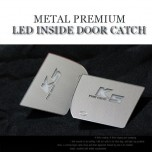 [CHANGE UP] KIA The New K5 - Metal Premium LED Inside Door Catch Plates Set