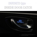 [CHANGE UP] INFINITI Q50 - LED Premium Inside Door Catch Plates Set
