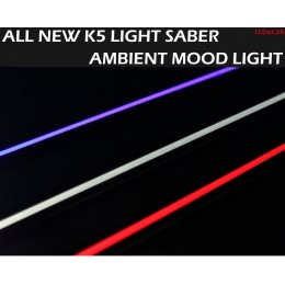 [LED & CAR] KIA All New K5 - Light Saber Ambient Mood Light