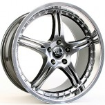 19' GT3 Hyper Black Alloy Wheels [5H/114.3]