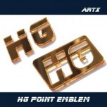 [ARTX] Hyundai Grandeur HG - Lettering Point Emblem HG - No.54