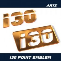 [ARTX] Hyundai i30 - Lettering Point Emblem i30 - No.47