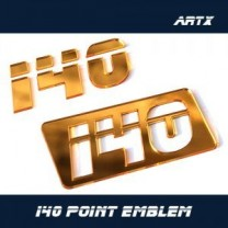 [ARTX] Hyundai i40 - Lettering Point Emblem i40 - No.48